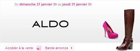 vente privée chaussures Homme et Femmes Aldo sur vente privée.com