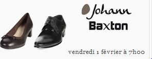 vente privée chaussures hommes et femmes Johann Baxton sur showroomprive.com