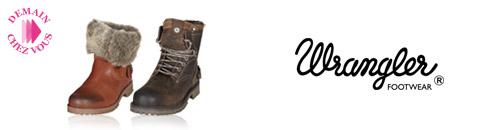 Vente privée chaussures Wrangler janvier 2013 sur showroomprive