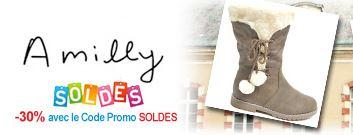 vente privée de Bottes AMILLY pour enfants sur vente-en-or.com