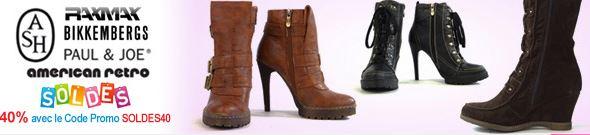 vente privée de chaussures pour femmes sur vente-en-or.com