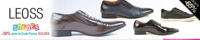 vente privée chaussures Hommes Leoss sur vente-en-or.com