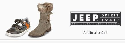 chaussure jeep homme